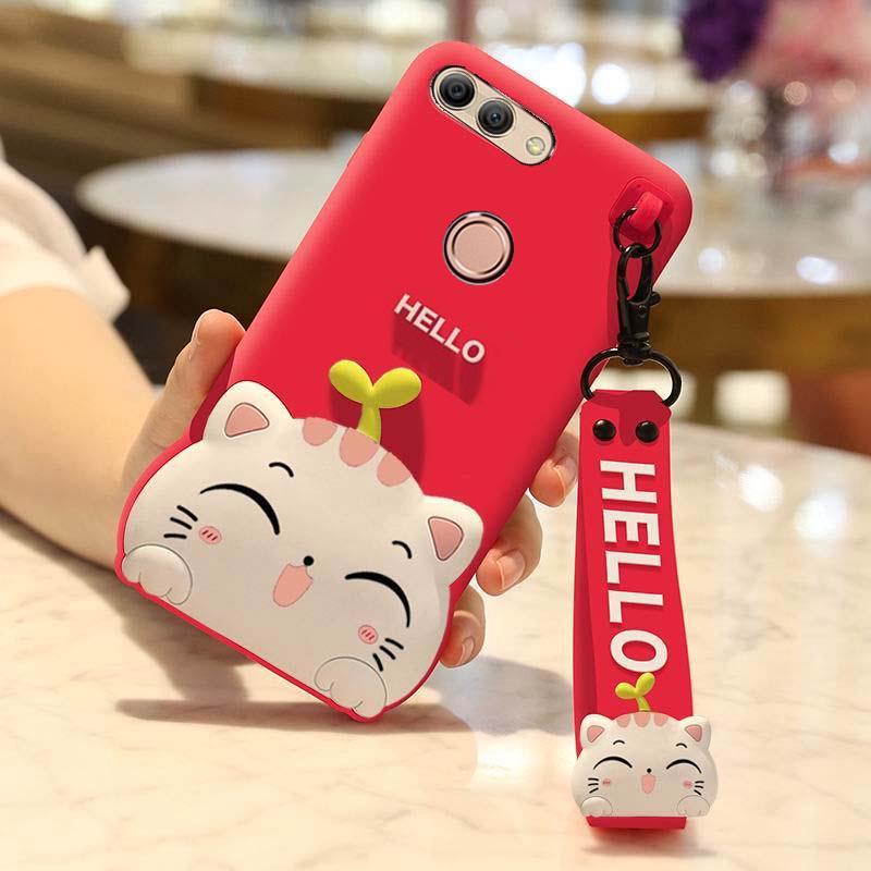 OPPO A3,A3S,F7,A7X,F9,F9 Pro, Lucky Cat Silicone Phone Case