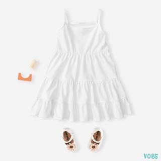 [Mã FABR327 hoàn 15% xu đơn 150K] Váy Bé Gái Thun 2 Dây 5 Màu Siêu Xinh BELLO LAND thumbnail