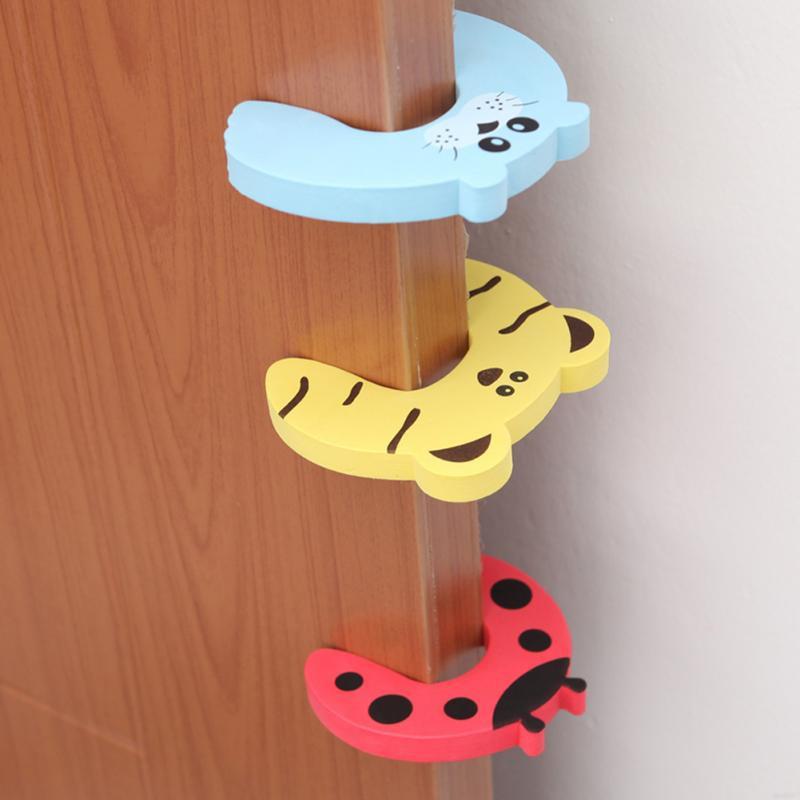 Miếng chặn cửa hình thú chắn cửa an toàn cho bé không bị kẹt tay giảm tiếng ồn khi đóng cửa