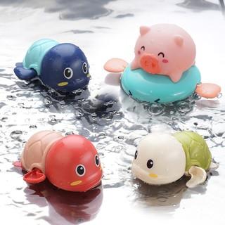 Thú bơi dưới nước ngộ nghĩnh vặn cót cho bé