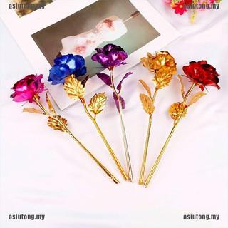 Hoa Hồng Mạ Vàng 24k Quà Tặng Valentine