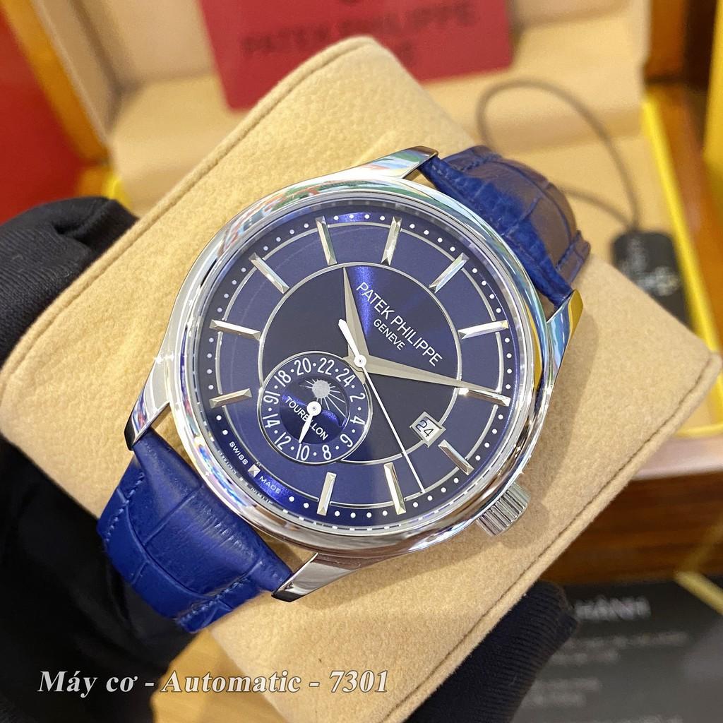 Đồng hồ nam PP máy cơ - size 42mm bản cao cấp bảo hành 24 tháng autowatch