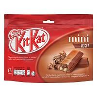 Socola Kit Kat Mini Vị Mocha (8 Thanh / Bịch)