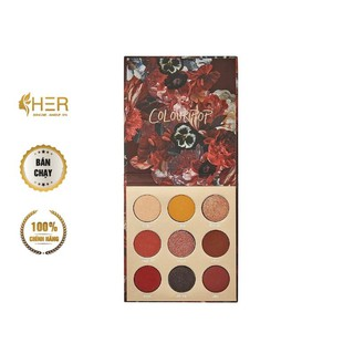 Bảng Phấn Mắt 9 Ô Colourpop Ornate Pressed Powder Palette thumbnail