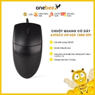 [Mã 159ELSALE hoàn 7% xu đơn 300K] Chuột Quang Có Dây A4Tech OP-620 1000 DPI - Hàng Chính Hãng thumbnail