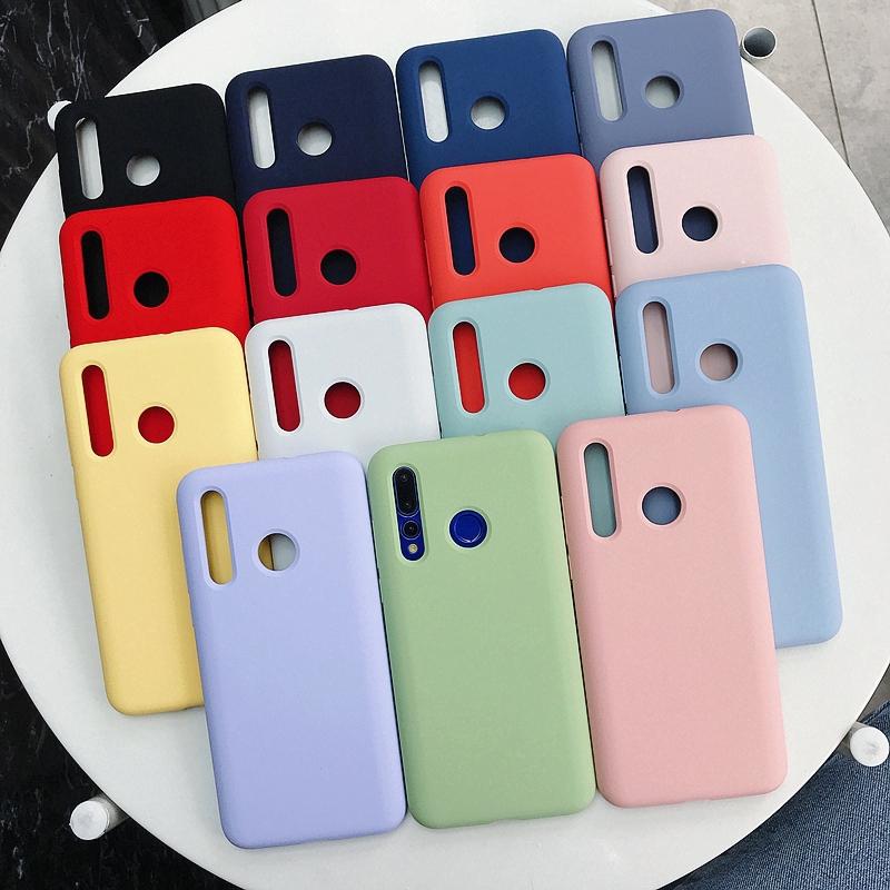 Upgrade Phone Casing Silicone Original Liquid Case Full Coverage for Huawei Nova 4 P20 Pro Case