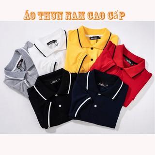 { Hàng có BIG SIZE 85 KG } áo thun nam POLO chất liệu vải dày dặn phong cách Hàn Quốc