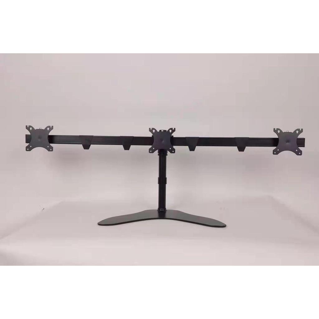 Bảng giá Giá treo ngang 3 màn hình máy tính lcd, led 17-27 inch, xoay màn hình 360 độ, hàng nhập khẩu mầu đen Phong Vũ