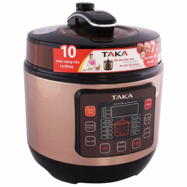 Nồi áp suất điện tử cao cấp Taka NS06C