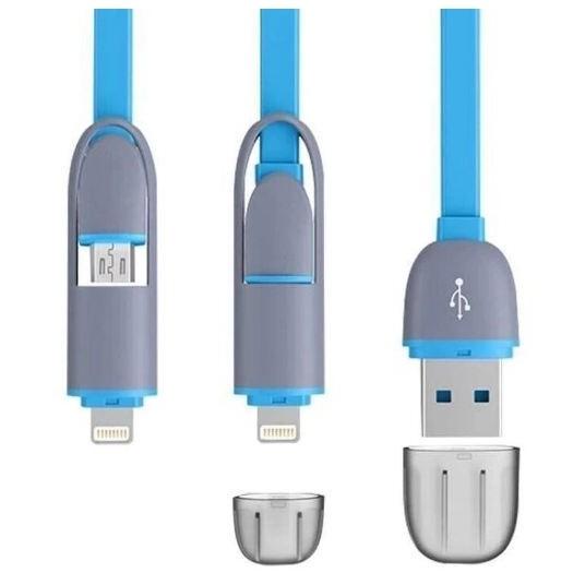 Cáp sạc điên thoại 2 in 1cho iPhone 5,6 và android ( Xanh ) - 10044556 , 344467302 , 322_344467302 , 98000 , Cap-sac-dien-thoai-2-in-1cho-iPhone-56-va-android-Xanh--322_344467302 , shopee.vn , Cáp sạc điên thoại 2 in 1cho iPhone 5,6 và android ( Xanh )