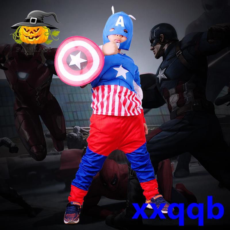 Mặt Nạ Hóa Trang Captain America Cho Bé