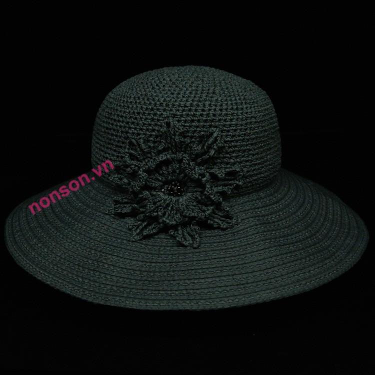 Nón Sơn mũ đan tay cao cấp DXH009A-DN2