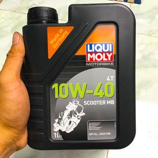 Nhớt Tổng Hợp Xe Tay Ga Liqui Moly MOTORBIKE 4T 10W-40 SCOOTER MB - 20832