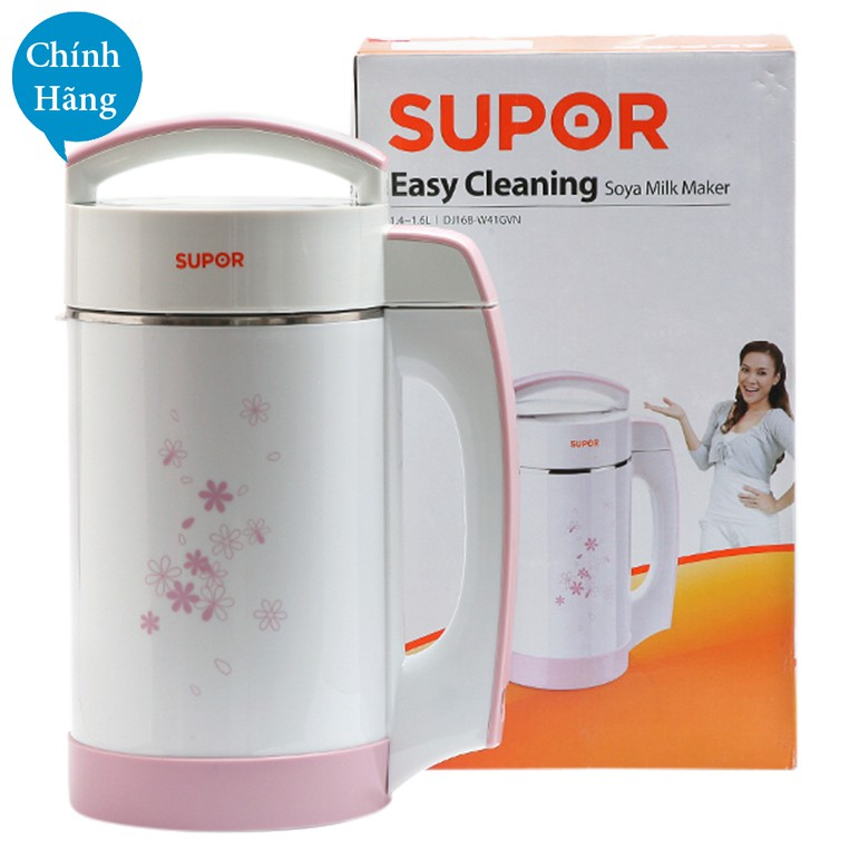 Máy làm sữa đậu nành Easy Cleaning Supor Chính hãng DJ13B-W42GVN