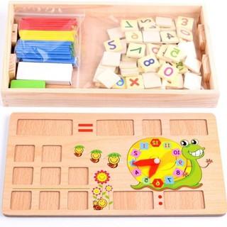 [Mã TOYFEB giảm 10% tối đa 15K đơn bấy kỳ] Bảng gỗ toán học thông minh phát triển trí tuệ cho bé [ SP039331]