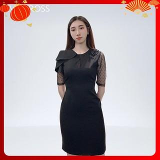 Váy ôm đính hoa cao cấp, đầm dự tiệc Lucie Dress EVA KROSS EKS130 [ẢNH THẬT]