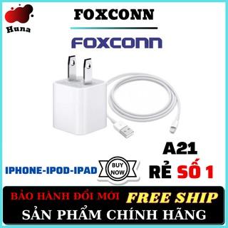 Củ Sạc Iphone [CHÍNH HÃNG] FOXCONN A21 Cao Cấp Không Nóng [BẢO HÀNH ĐỔI MỚI] - HunaStore thumbnail