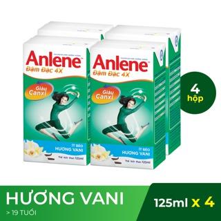 Sữa nước Anlene CONCENTRATE đậm đặc Lốc 4x125ml