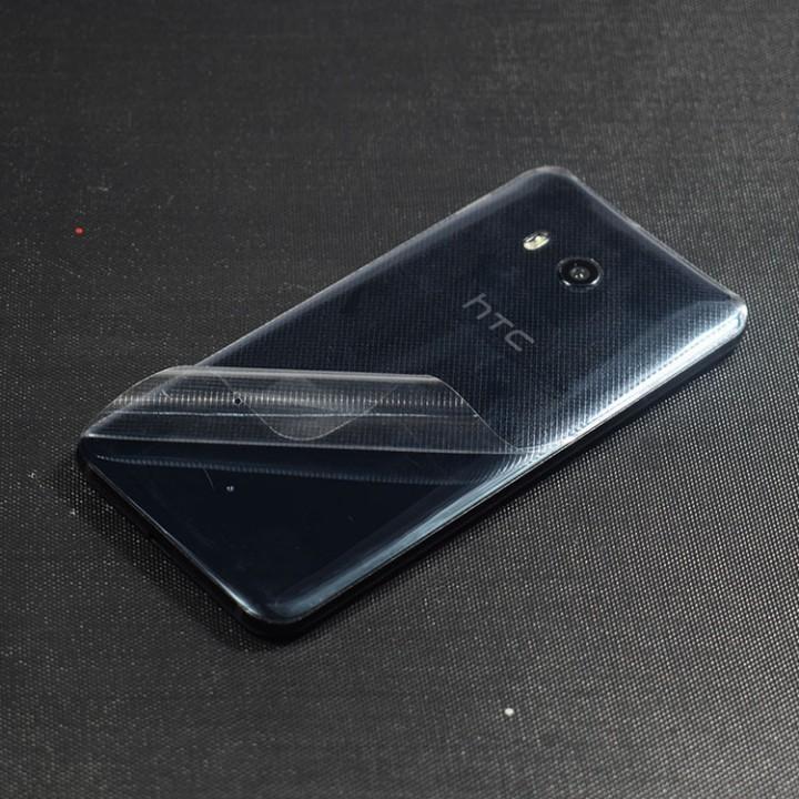 Dán mặt lưng HTC U11 caro trong suốt