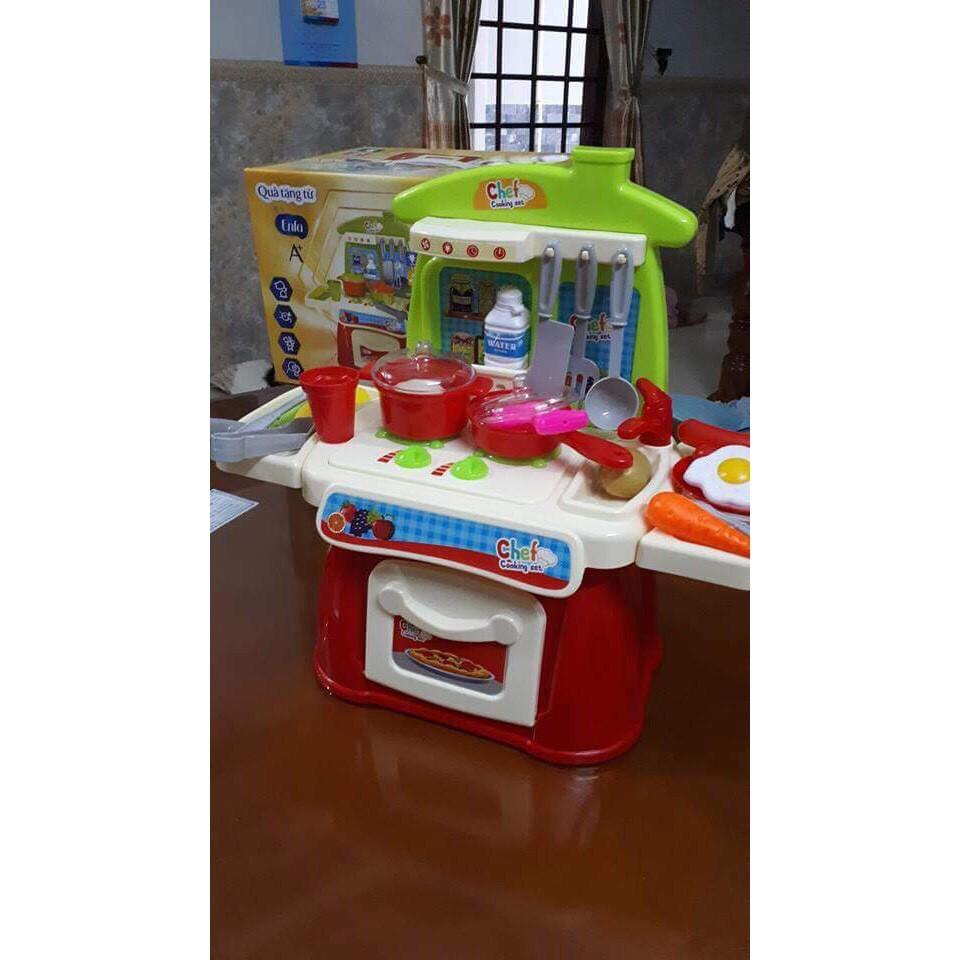 Bộ đồ chơi nhà bếp có nhạc và đèn Enfa - 9976587 , 1231405438 , 322_1231405438 , 150000 , Bo-do-choi-nha-bep-co-nhac-va-den-Enfa-322_1231405438 , shopee.vn , Bộ đồ chơi nhà bếp có nhạc và đèn Enfa