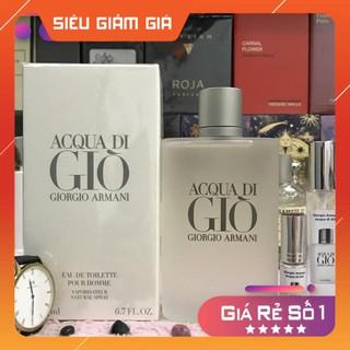 [New 2021] Nước hoa Giorgio Armani - Acqua Di Gio EDT 100ml Full Seal Hàng Authen thumbnail