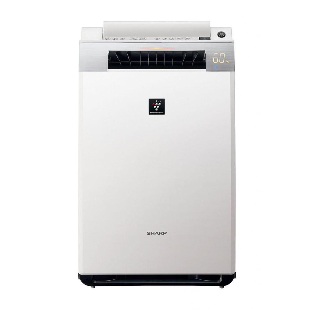Máy làm sạch không khí tạo ẩm Plasmacluster 25000 premium white SHARP KI-EX55 (