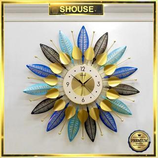 Đồng Hồ Treo Tường Trang Trí Shouse DC111 kim trôi quartz nghệ thuật cho phòng khách