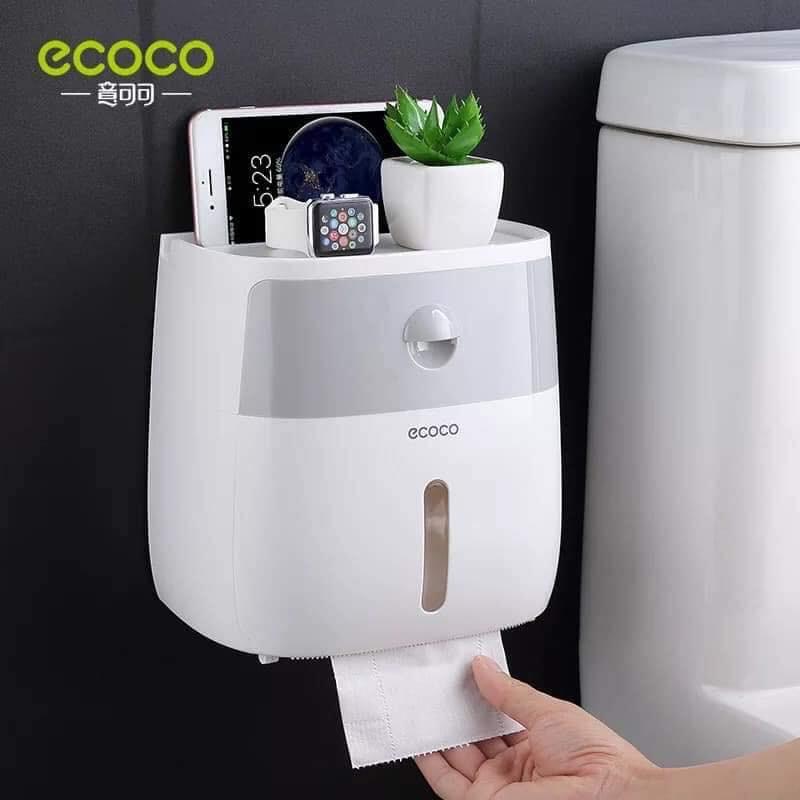 Hộp đựng giấy vệ sinh 2 trong 1 Ecoco