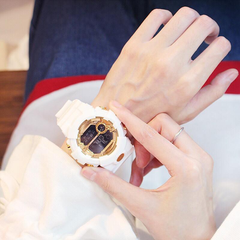( Giá Sỉ ) Đồng hồ thời trang nam nữ Sport điện tử full chức năng DH017