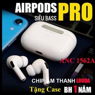 Tai Nghe Airpod Pro ANC Louda 1562A Hồng Ngoại - Chống Ồn Xuyên Âm - Sạc Không Dây - Định Vị Đổi Tên - Check Setting