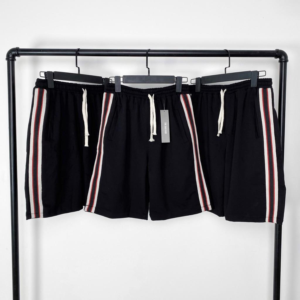 Quần short thể thao TBG sọc đỏ , quần sooc nam nữ unisex , MSW Town