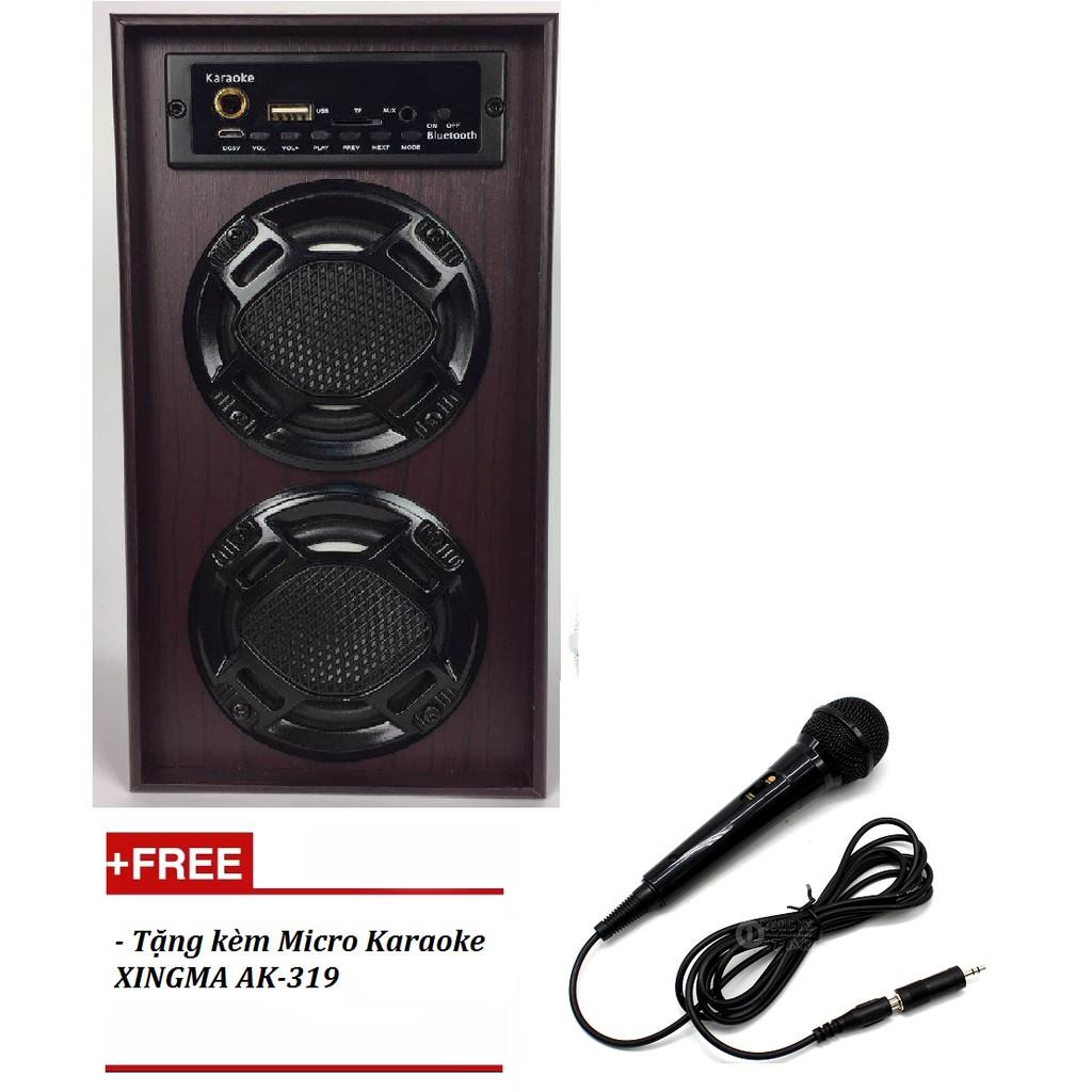 Loa thùng Bass, Model 103 tặng kèm Micro Karaoke XINGMA AK-319 màu đen - 3064875 , 768584019 , 322_768584019 , 799000 , Loa-thung-Bass-Model-103-tang-kem-Micro-Karaoke-XINGMA-AK-319-mau-den-322_768584019 , shopee.vn , Loa thùng Bass, Model 103 tặng kèm Micro Karaoke XINGMA AK-319 màu đen