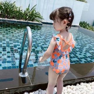 Bộ đồ bơi một mảnh phong cách công chúa 2021 cho bé gái