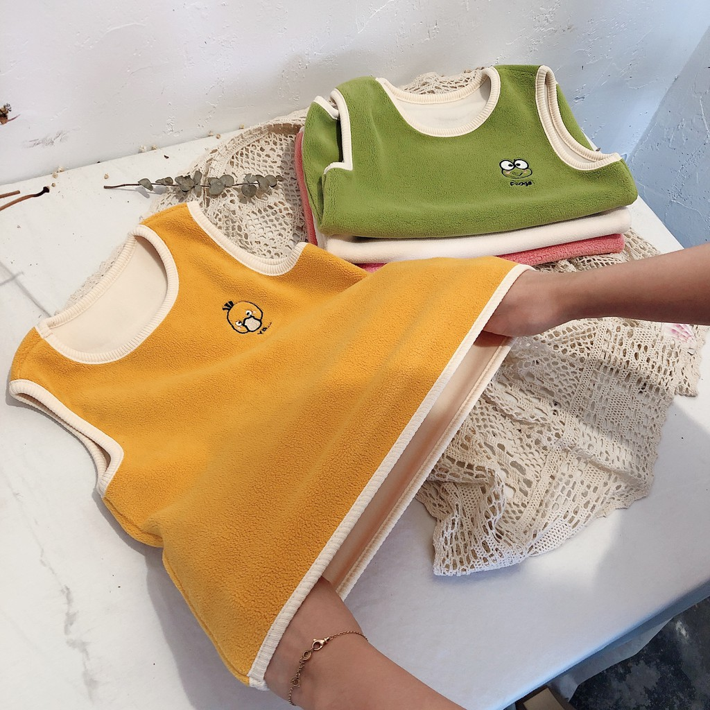 Năm 2021 mới Sát Nách Giữ Ấm Cho Bé Trai Và Bé Gái Quần áo trẻ em nước  ngoài thời trang xuân hè chính hãng 126,996đ