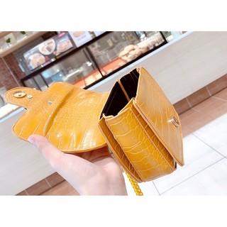 Túi xách GG full màu dây xích đeo chéo đeo vai  dự tiệc KAWA thời trang hàng đẹp GGMAU01 + ảnh shop chụp