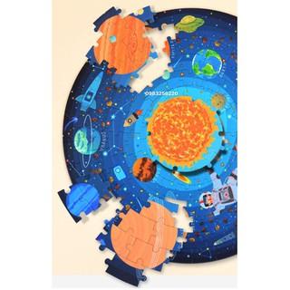 Xếp hình Puzzle Mideer chính hãng chủ đề Vũ trụ Wandering through the space