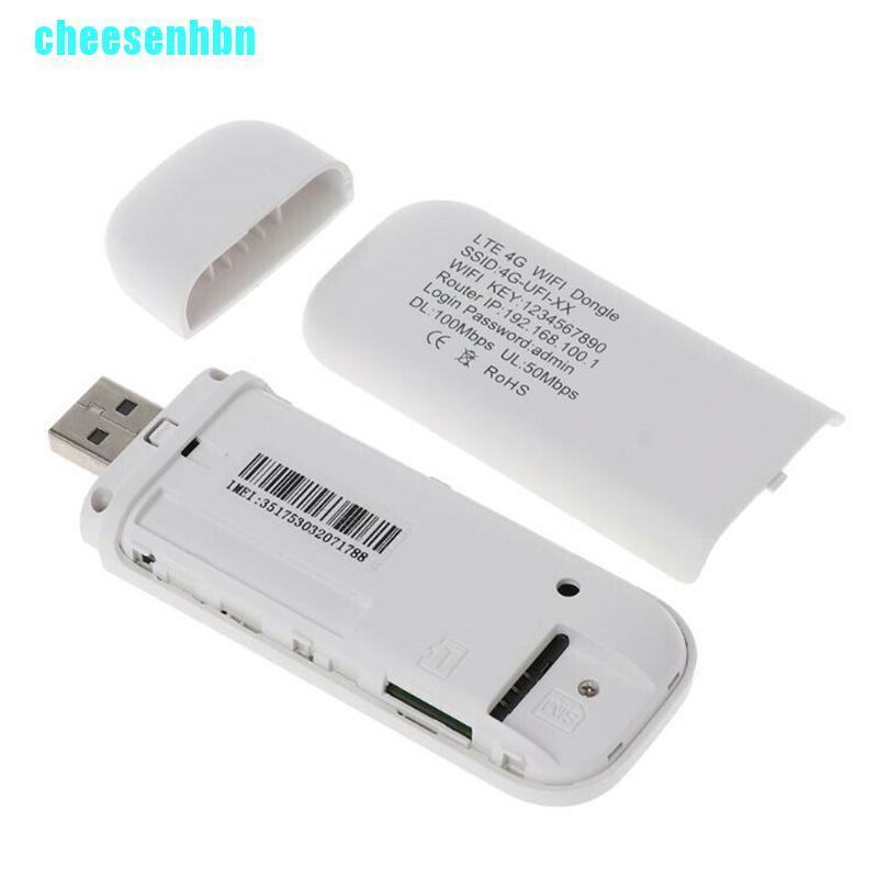 Bộ modem Wifi Hotspot USB LTE 4G đã mở khóa kiêm bộ định tuyến không dây di động có ngăn cắm thẻ SIM
