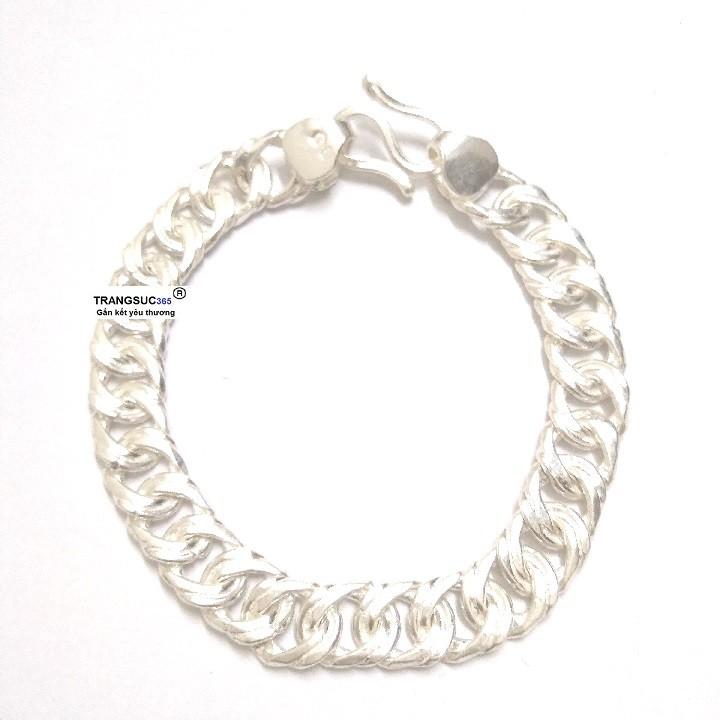 Lắc tay nam bạc ts365-la013, vòng tay nam bạc ts365-la013