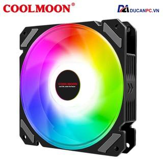 Quạt Tản Nhiệt, Fan Led RGB Coolmoon X1 - Đồng Bộ Hub thumbnail