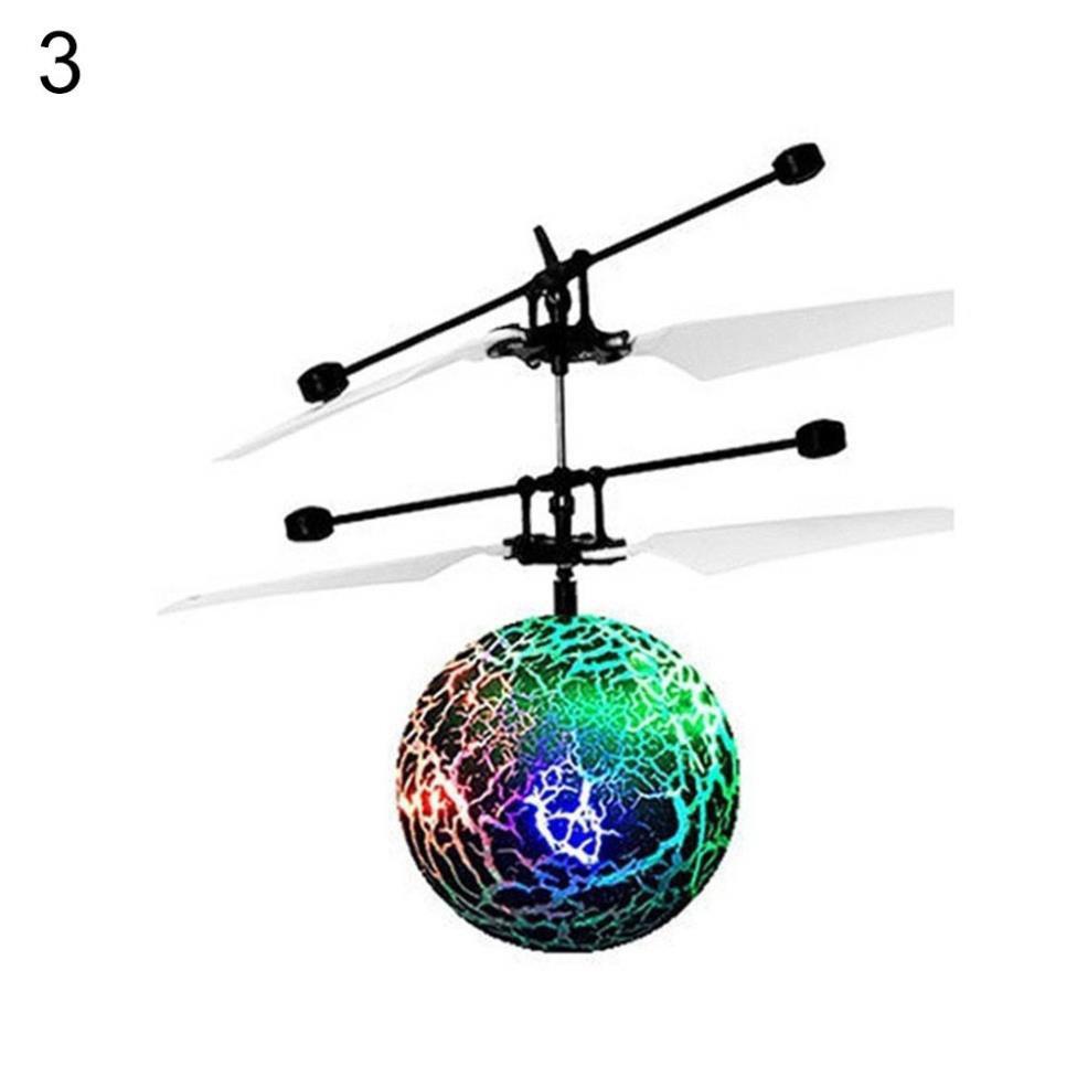 Máy bay trực thăng đồ chơi có đèn LED cảm ứng vui nhộn cho bé