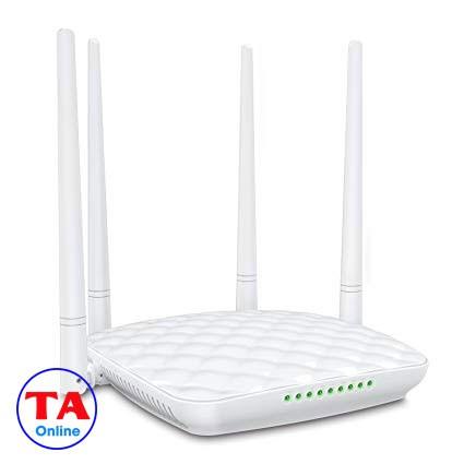 Bộ phát wifi Tenda FH456 - 4 anten, tốc độ 450Mbps, Có chức năng Repeater. (Xuyên tường)