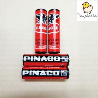 🐣 Pin tiểu con ó -pin AA Pinaco 1.5V 6 viên/vỉ