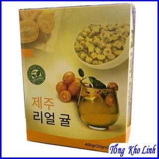 Trà tắc JeJu siêu giảm mỡ đẹp da Hàn quốc thumbnail