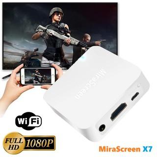 HDMI không dây MiraScreen X7 Full HD 1080P - HDMI không dây hỗ trợ 3G/4G/5G/WIFI