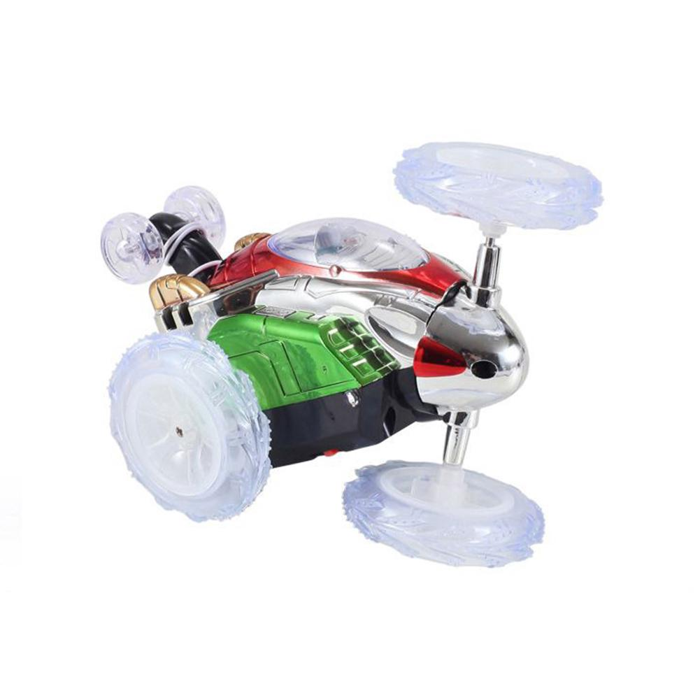 Wireless Remote Control Leaping Dragon 2.4G RC Bounce Car LED Night Lights