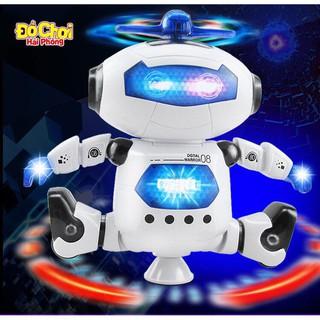 Robot Xoay 360 Độ- Robot Nhảy Múa Theo Nhạc