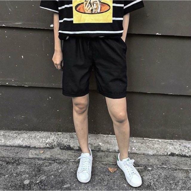 Quần short kaki, quần short trơn, quần short unisex