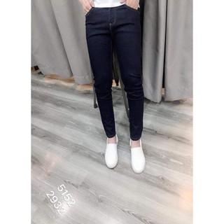 Quần jeans cotton trơn