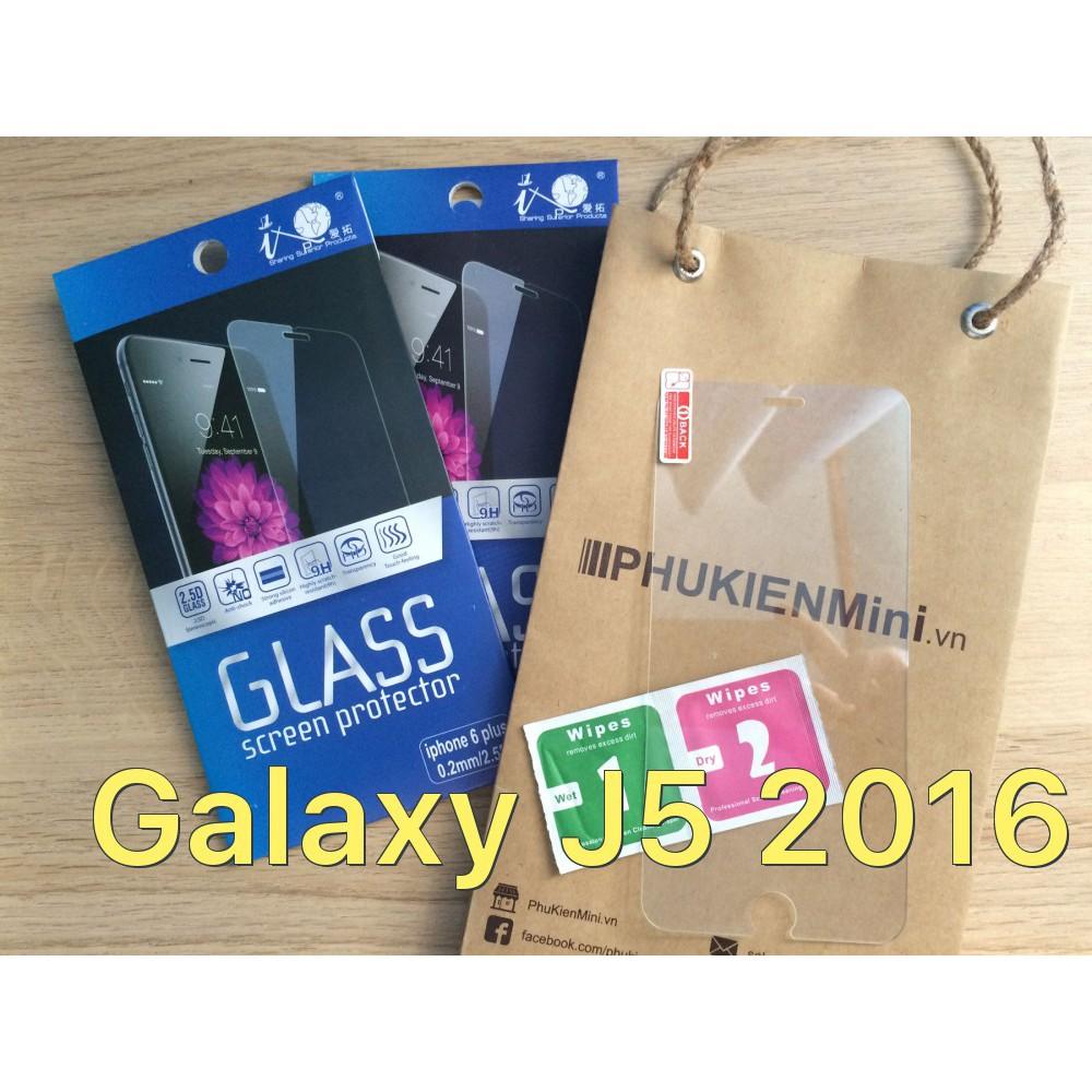 Dán cường lực 9H/2.5D cho Galaxy J5 2016