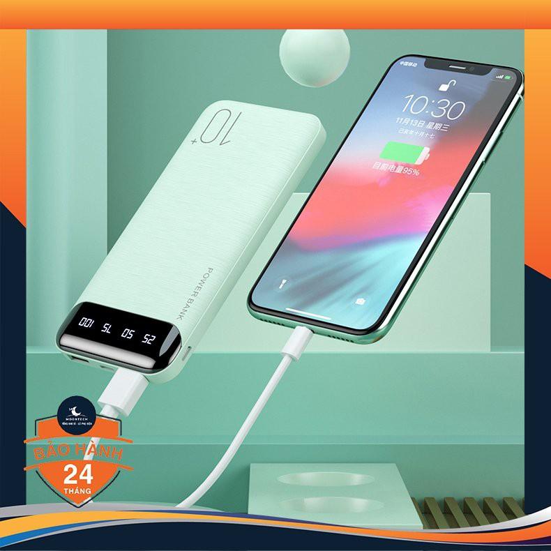 Sạc Dự Phòng Tích Hợp Màn Hình Led Remax WP 161 10000mAh sạc nhanh cho iphone, Ipad, Xiaomi, Oppo